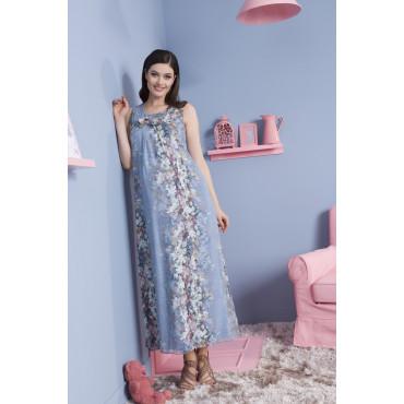 Jilin Bow Chiffon Dress