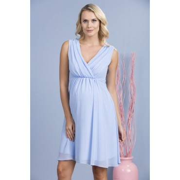 Kruvaze Collar Mini Maternity Clothes Abi Dress