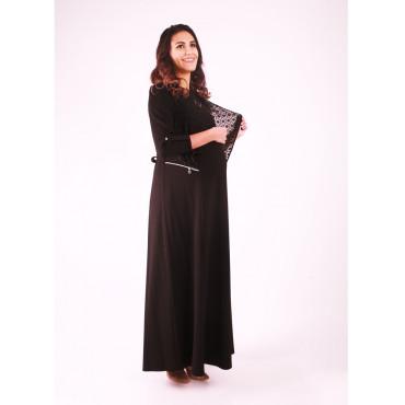 Pregnant Chiffon Jacket Zippered Dress