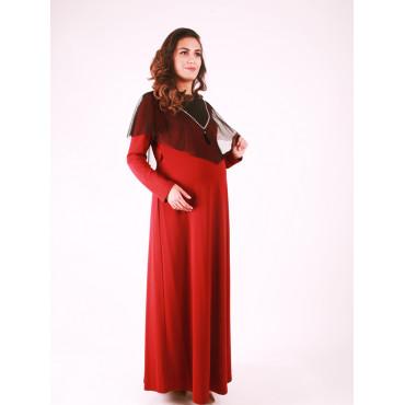 Pregnant Shoulder Tulle Dress