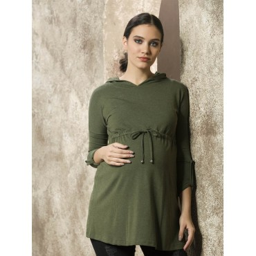 Sports Arm Hooded Tunic