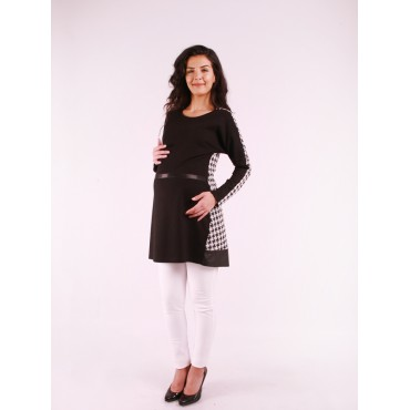 Maternity Clothes Cushion Leather Belt Tunic