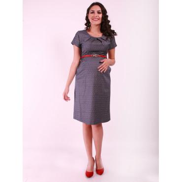 Pregnant Star Pattern Tencel Dress
