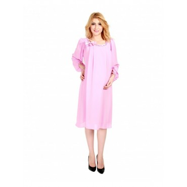 Maternity Long Sleeve Chiffon Evening Gospel