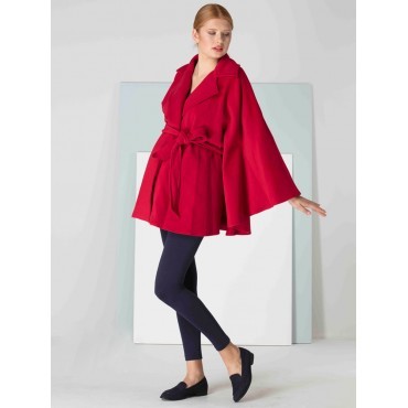 Maternity Wear Stamp Poncho