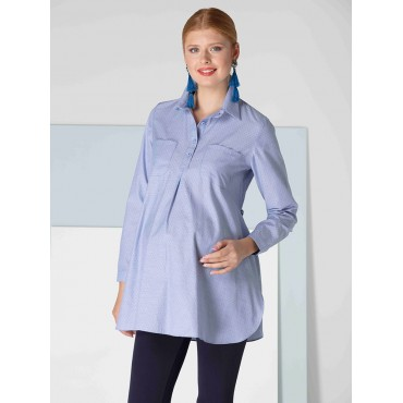 Pregnant Breast Cotton Sports Shirt
