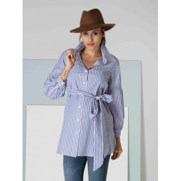 Pregnant Coton Striped Tunic