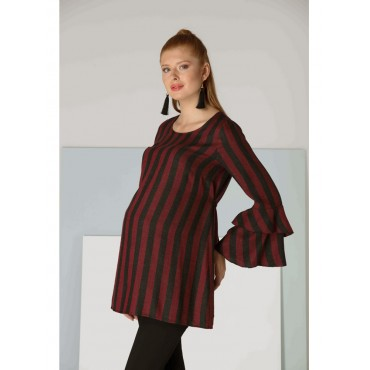 Maternity Line Viscose Wool Tunic