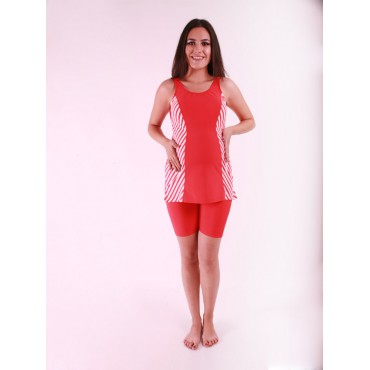 Maternity Wear Lined Sleeveless Swimwear