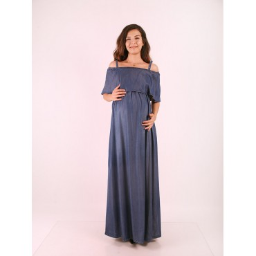 Pregnant Clothing Bolero Hanger Tencel Dress