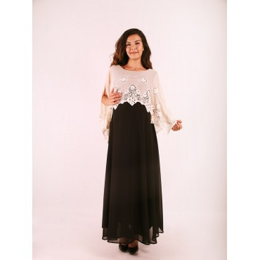 Maternity Clothes Sweep Shawl Dress