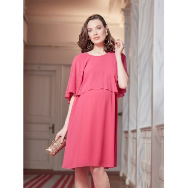 Maternity Clothes Bolero Arm Chiffon Shower Dress