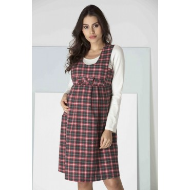 Maternity Wool Gilet Dress