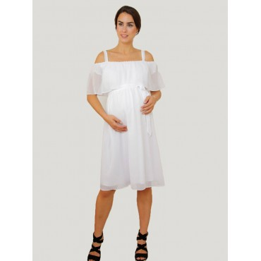 Bolero Mini Baby Shower Hamle Dress