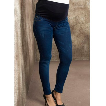 Pregnant Nail Stretch Jeans Pants
