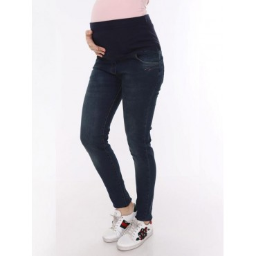 Narrow Hem Rodeo Maternity Jeans