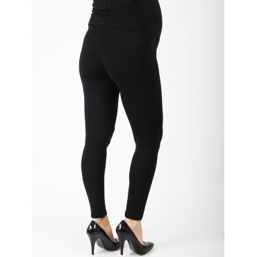 Pregnant Viscose Lycra Full Length Leggings