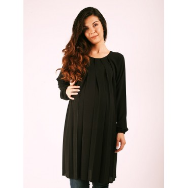 Maternity Top Pile Crep Tunic