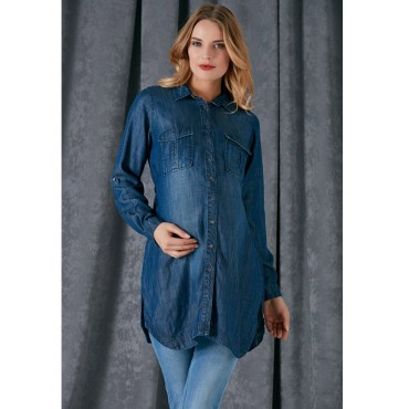 Pregnant Sports Bag Pocket Tencel Shirt