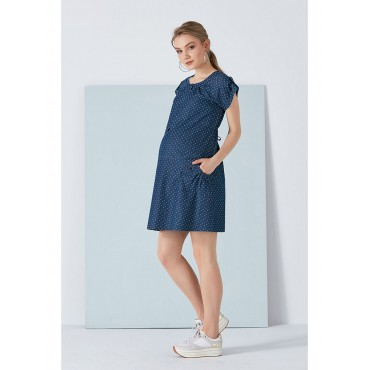Mini Dress with Pregnant Points