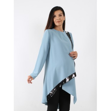 Wrap Maternity Tunic