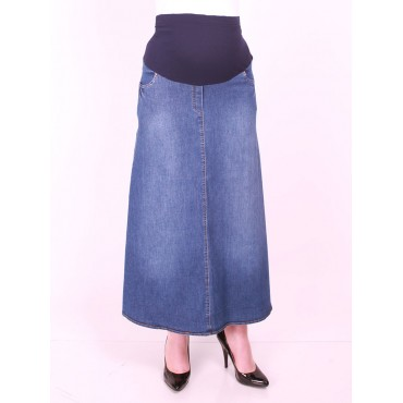Lycra jeans Skirts Maternity Clothes