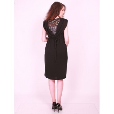 Laced degaje maternity wear mini cocktail dress