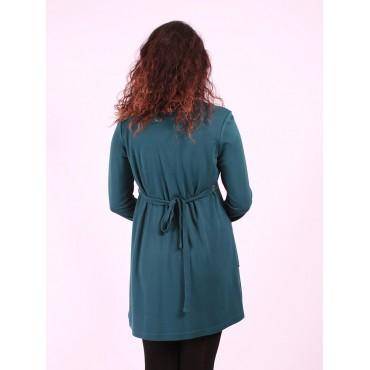 Maternity Wear Row Button Tunic