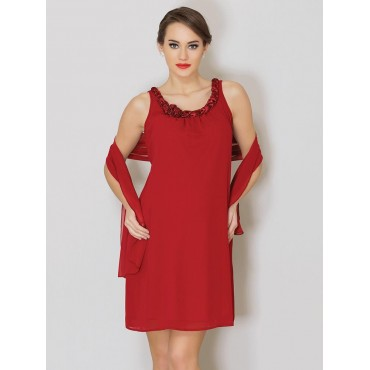 Knitting Collar Maternity Dress