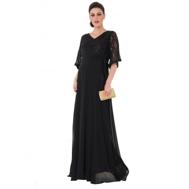 Party Pregnant Long Abia Dress