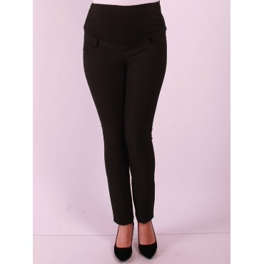 Maternity Clothing Power Stretch Narrow Paca Pants