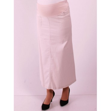 Maternity Wear Skirts Square Mobile Linen