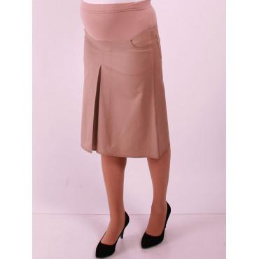 Maternity Wear Pleated Short Skirt