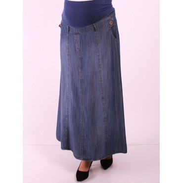 Tencel Pockets Skirts