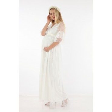 Pregnant Point Tulle Dress