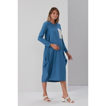 Relaxed Cut Street Style Sequin Detailed Maternity Tunic