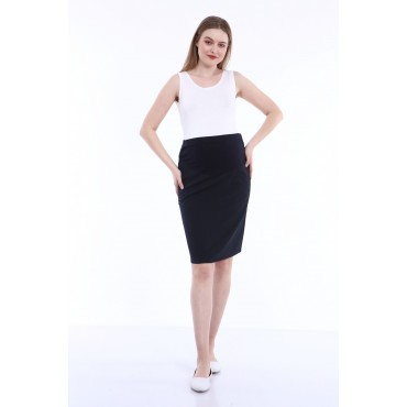 Pocket Mini Pencil Skirts Maternity Clothes