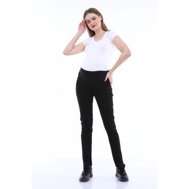 Slim Fit Narrow Hem Trousers