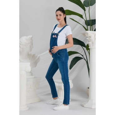 Maternity Tight Waist Bowknot Pants
