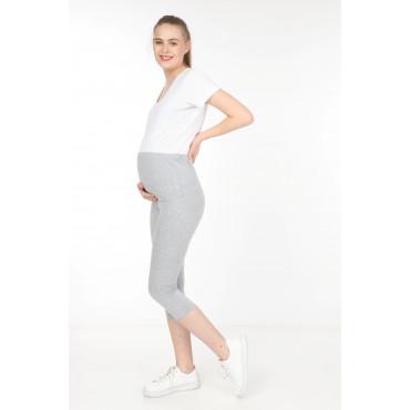 Maternity Cotton Lycra Capri Tights