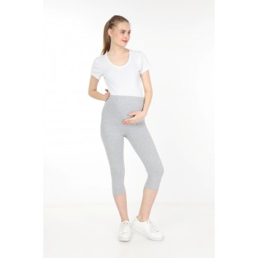 Maternity Cotton Lycra Capri Tights