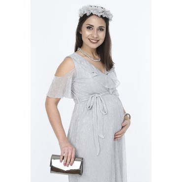 Sim Plise Baby Shower Special Dress