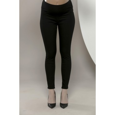 Narrow Hem Slim Fit Maternity Trousers
