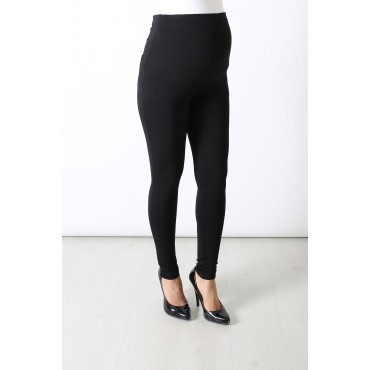 Steel Knitted Maternity Rider Pants Leggings