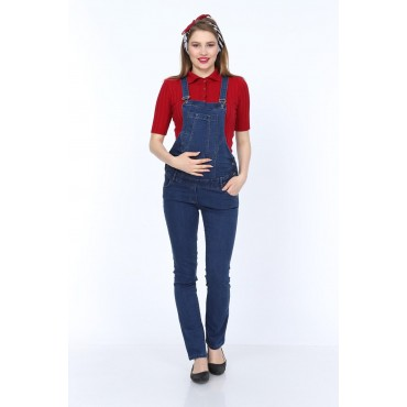 pregnant cut comfortably stretchy jeans gardener trousers