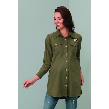 Arma Cotton Maternity Shirt