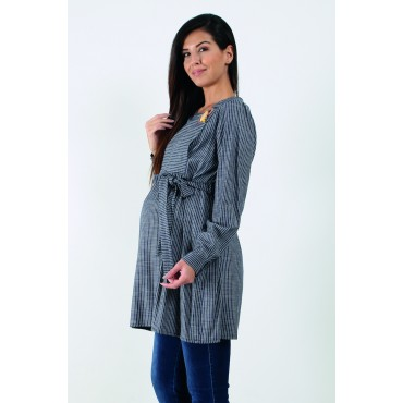 Breastfeeding Sports Line Pregnant Tunic