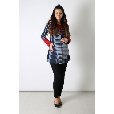 Three Bow Maternity Tunic