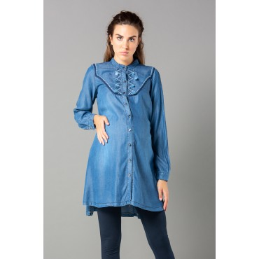 Pregnant Denim Shirt