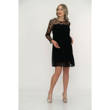 Points Tulle Maternity Evening Dress